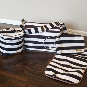 Ju-Ju-Be Diaper Bag 3 pc Set
